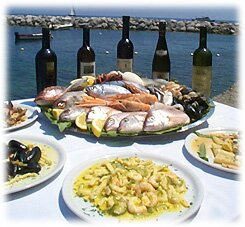 Amalfi Coast Restaurant Photo